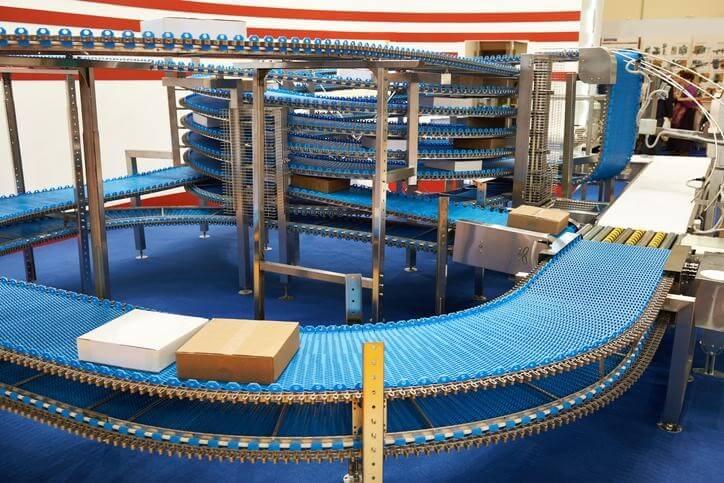 UHMW polyethylene conveyor system