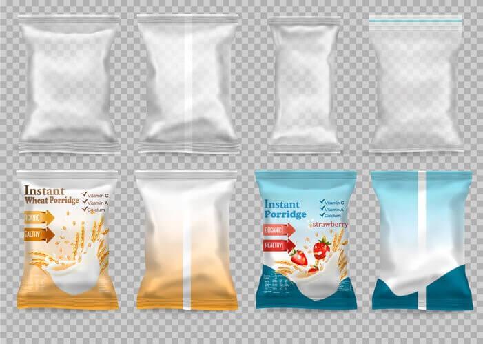 Traditional polypropylene packaging