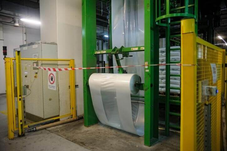 The process of making polypropylene plastic
