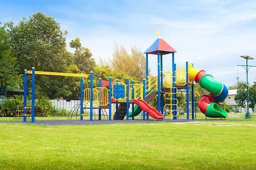 Playground using polycarbonate plastic