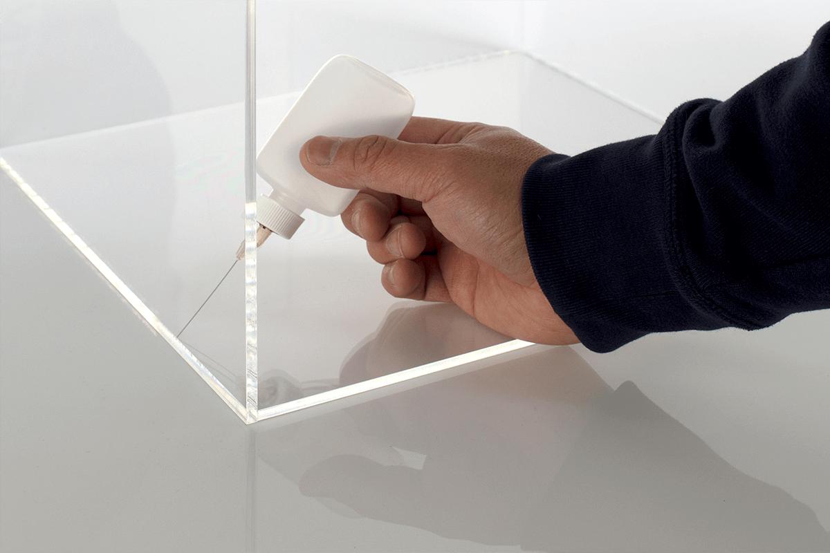 gluing plastic to plastic