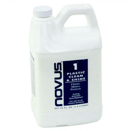 Novus No  1 Plastic Clean & Shine 64 oz