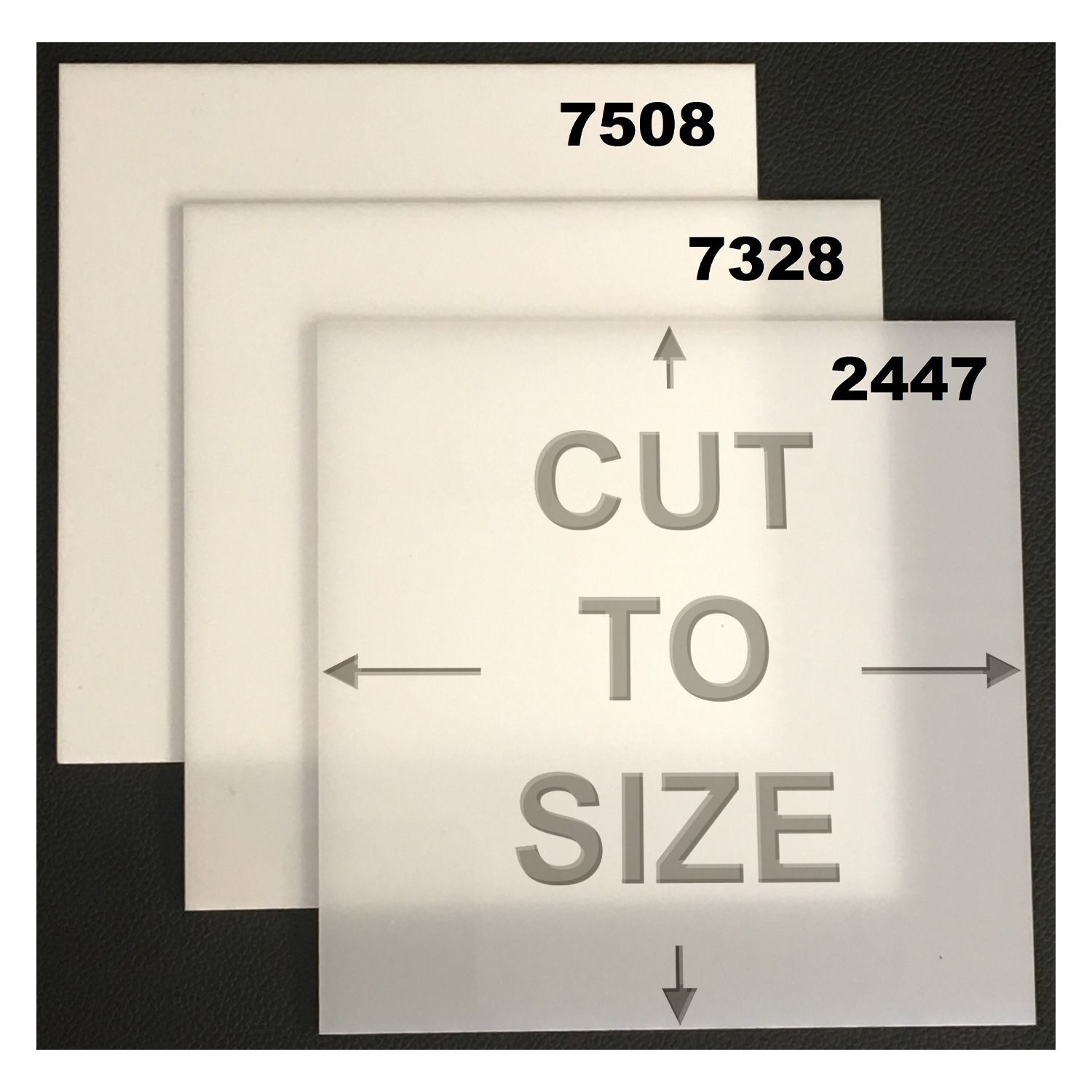Cut To Size White Acrylic Sheet Cast Acme Plastics Inc