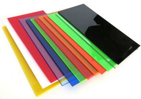 Clear and color acrylic sheet is excellent for fabrication