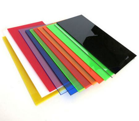 Sample Color Acrylic Sheet - Cast | ACME Plastics, Inc.