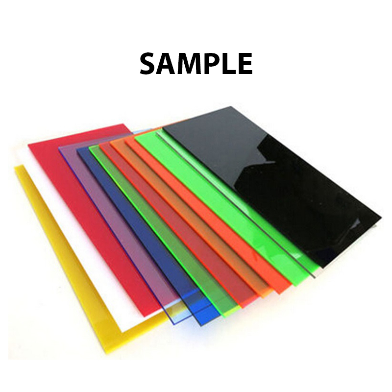 Sample Color Acrylic Sheet Cast Acme Plastics Inc