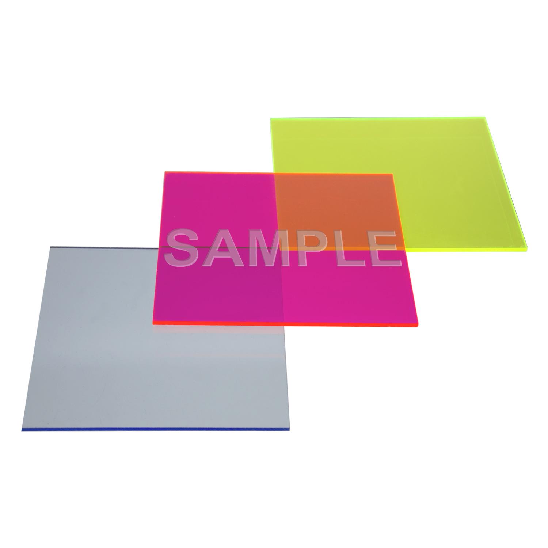 Sample Fluorescent Color Acrylic Sheet Cast Acme