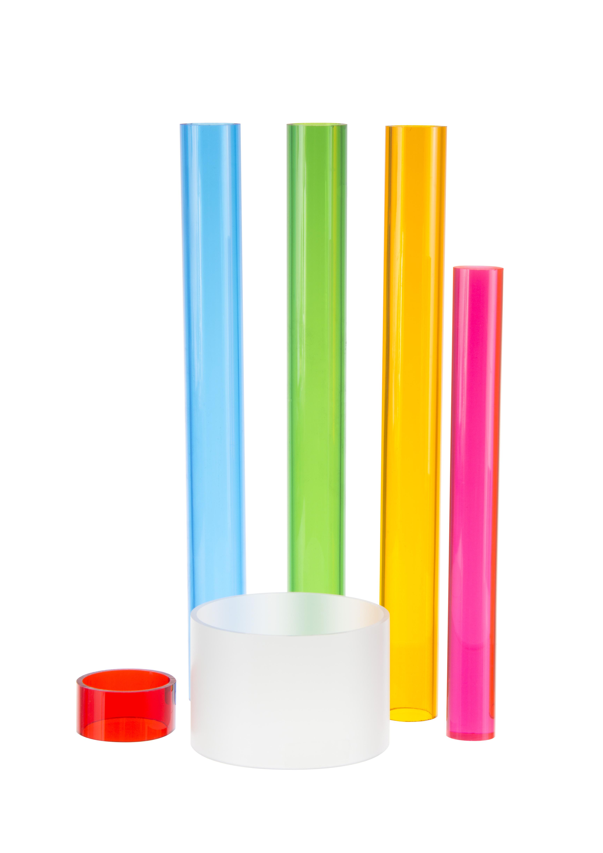 West Alabama Wholesale >> ACRYLIC EXTRUDED COLOR TUBE | ACME Plastics, Inc.