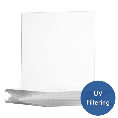 Acrylic Uv Filtering Op3 Frame Grade Clear Sheet Acme Plastics Inc
