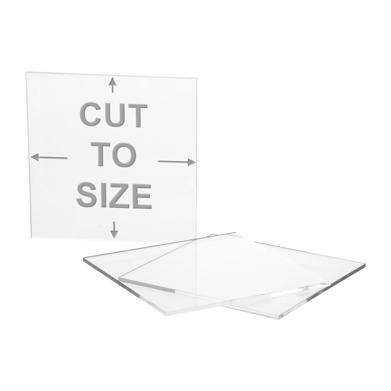 Cut Panel Clear Plastic PetG Cut Sheet