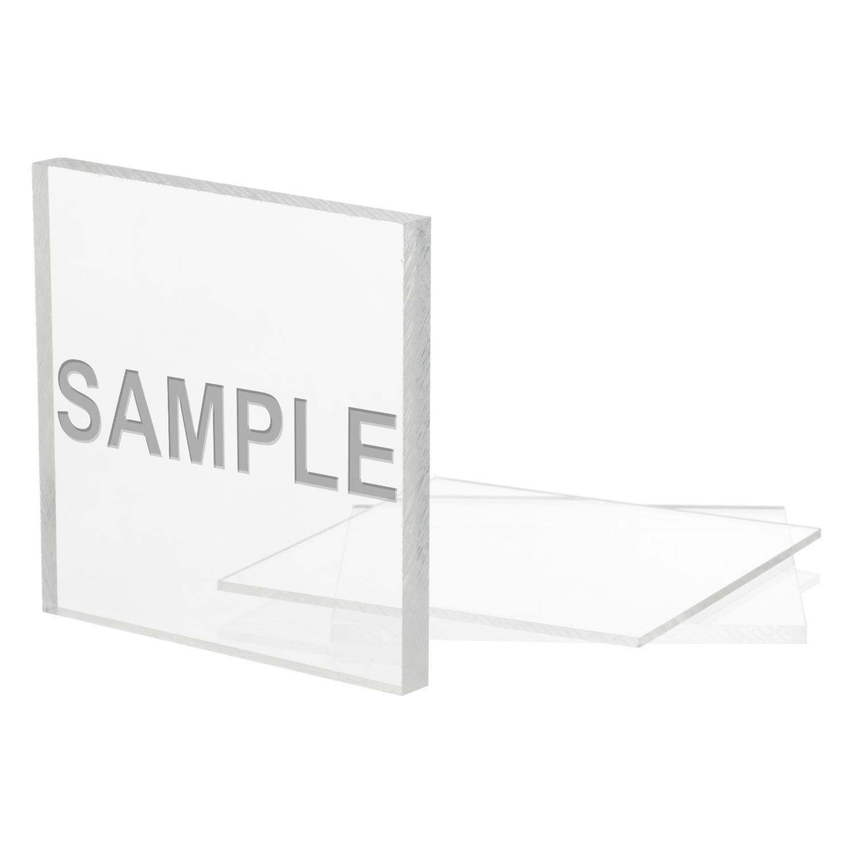 Sample Clear Polycarbonate Sheet Acme Plastics Inc