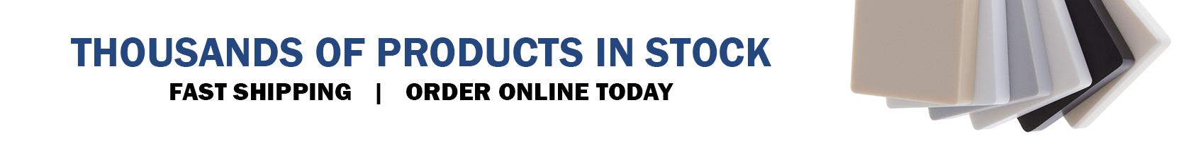Online Distributor of Plastic, Sheet, Rod, & Tube   Acme