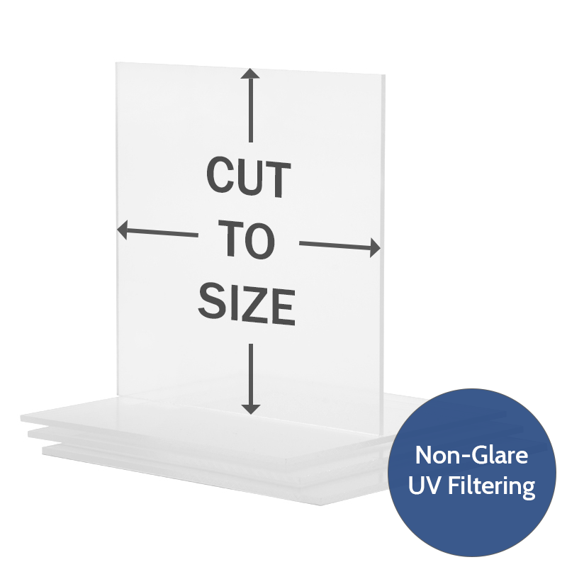 Cut To Size Acrylic Uv Filtering Op3 Non Glare P99 Frame